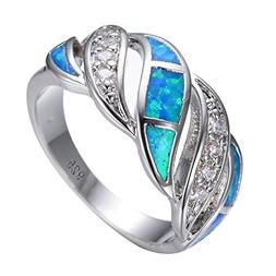 Junxin 925 Sterling Silver Wave Hollow Ring,Women and Man We
