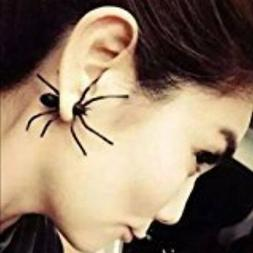 Categories Pair Hot Fashion Womens Halloween Black Spider Ch