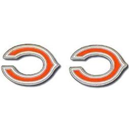 Chicago Bears Stud Earrings - NFL Football Fan Shop Sports T