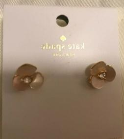 Kate Spade Disco Pansy Reversible Pearl Earrings Kate Spade