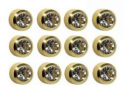 Caflon Ear Piercing Bezel Earrings Studs 3mm April C/Z Gold