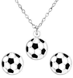 Jewelry Set for Children: Sterling Silver Hypoallergenic Soc