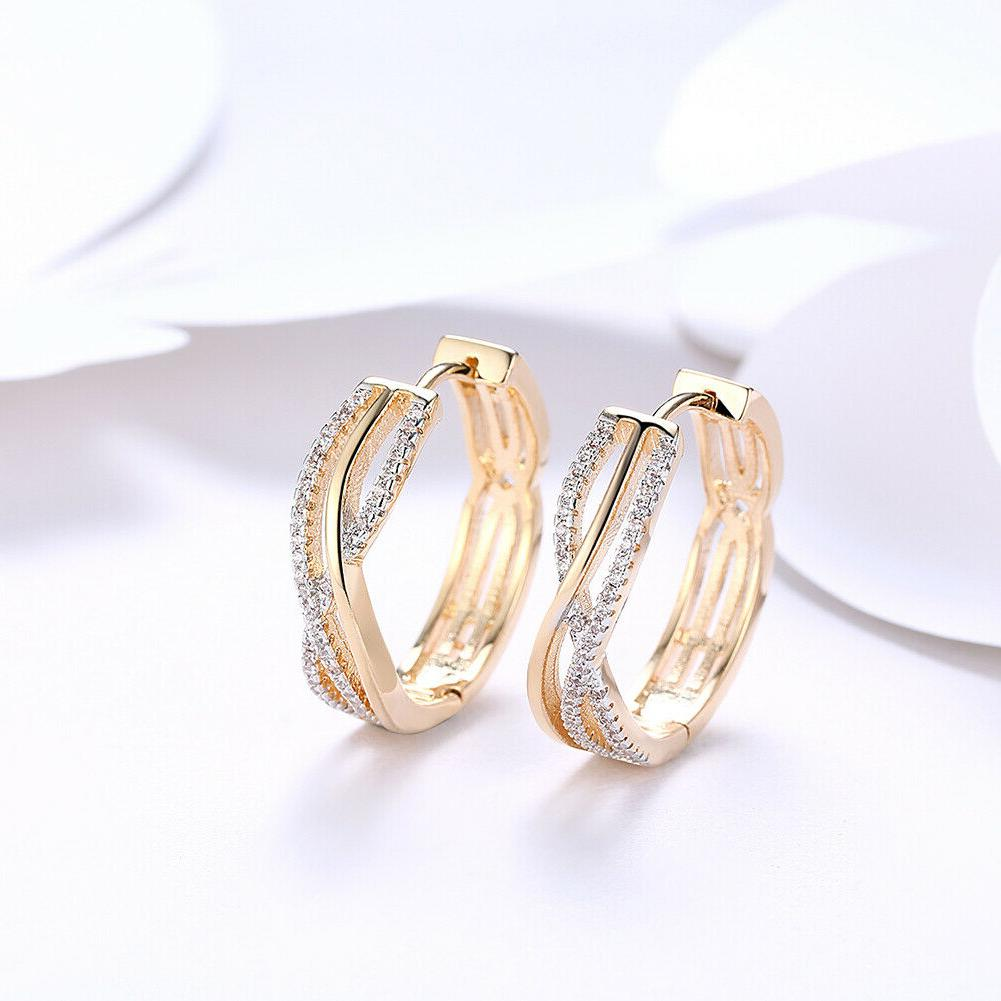 18K Huggie Large Earring with