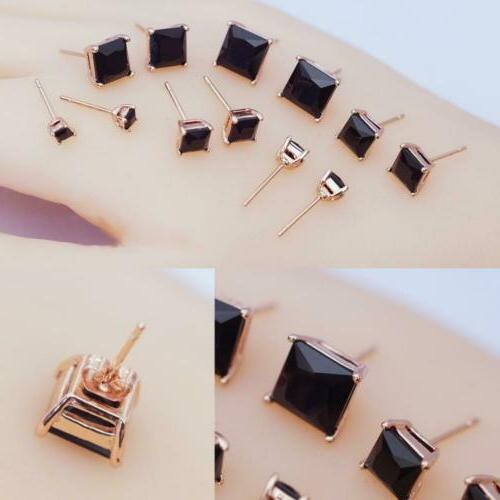 Anni 18K Plated Stainless Rose Black