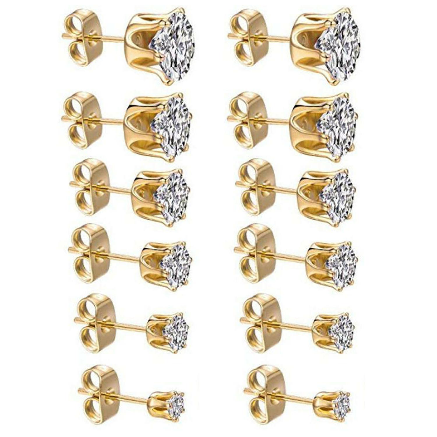 3mm 8mm women s stainless steel gold