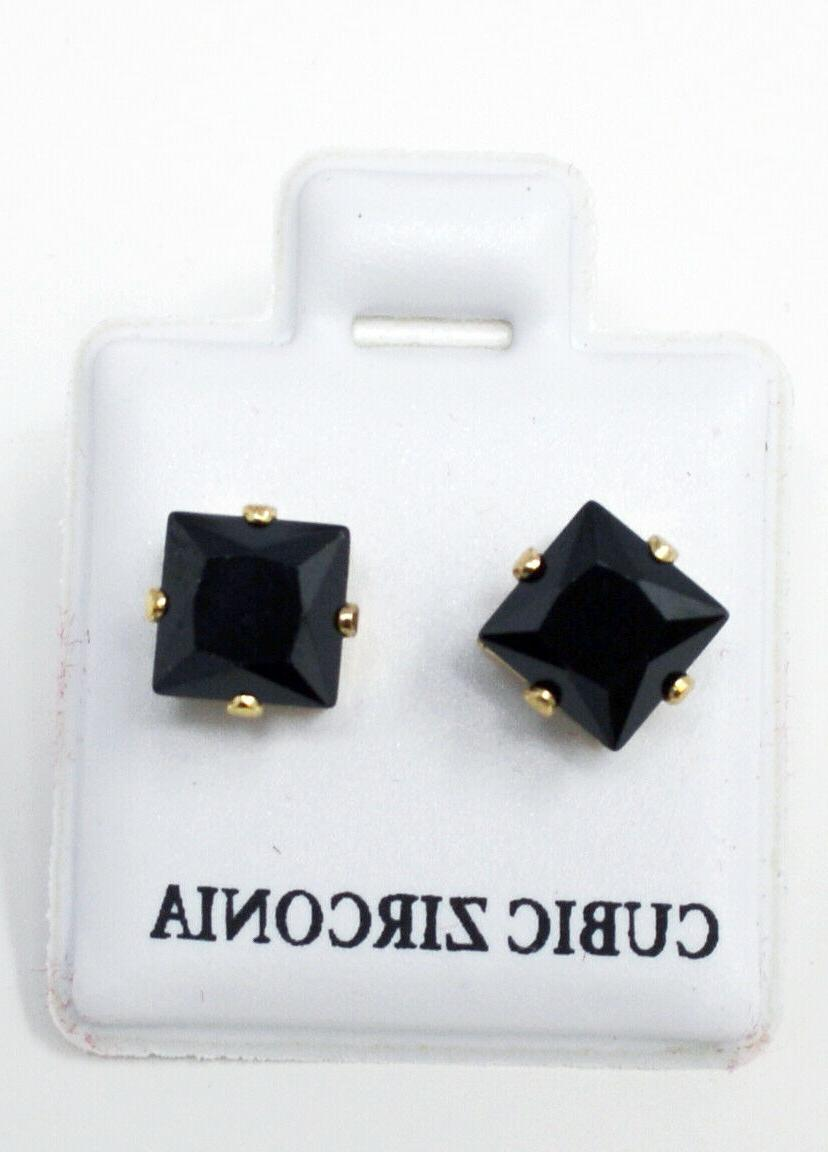 72 GOLD SQUARE EARRINGS STORE