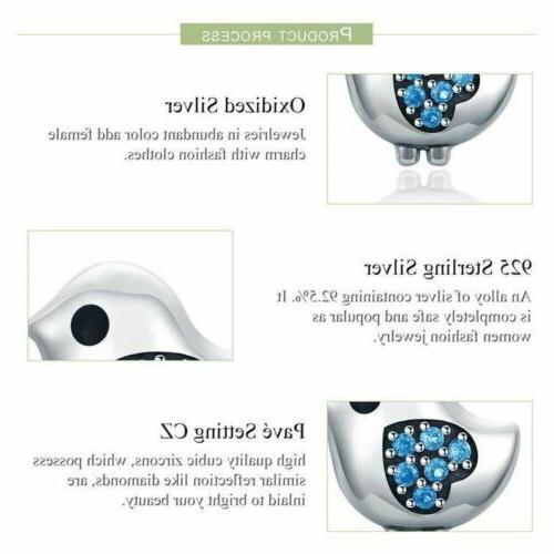 925 Silver Color Bird Stud Earrings. 40 Delivery