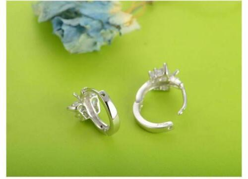 925 Sterling Silver Stud Earrings Design 20 Delivery