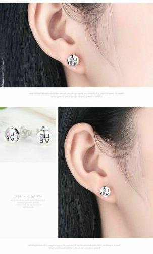 925 Crystals Earrings. Day