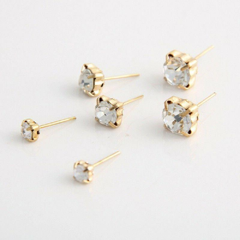 9Pairs Studs Punk Earring For Newly