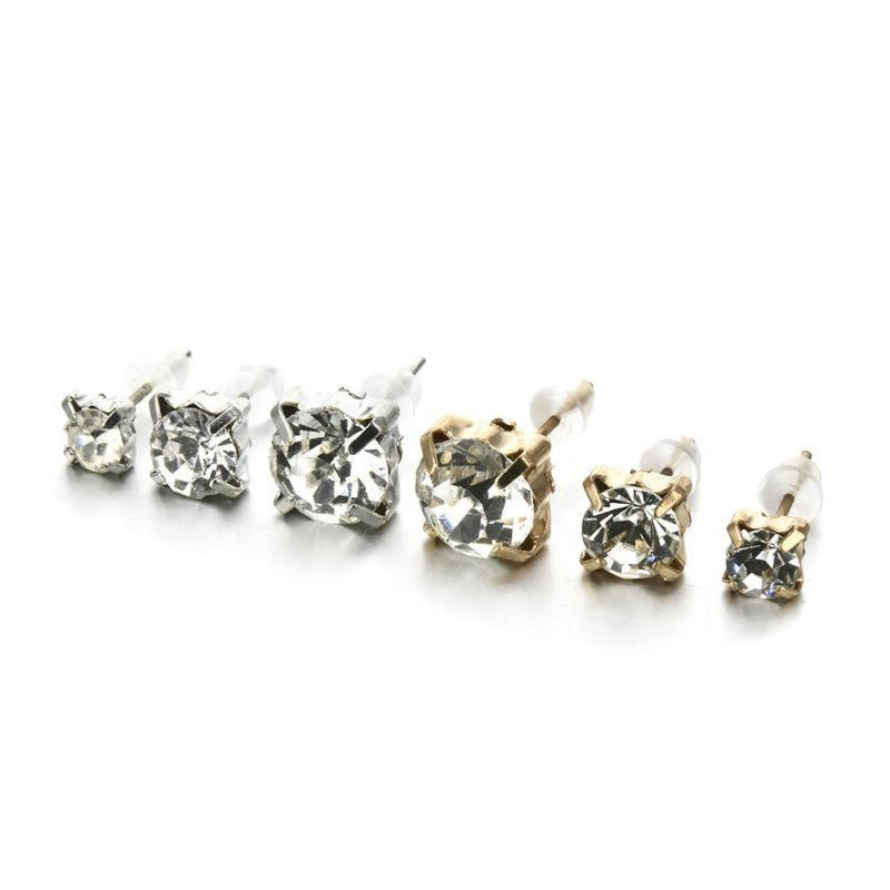 9Pairs Ear Punk Pack Mixed Earring For Women Newly