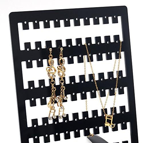 Stand 6 Black upto earring