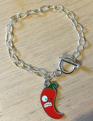 Angry Chilli Earrings, Necklace, Rockabilly