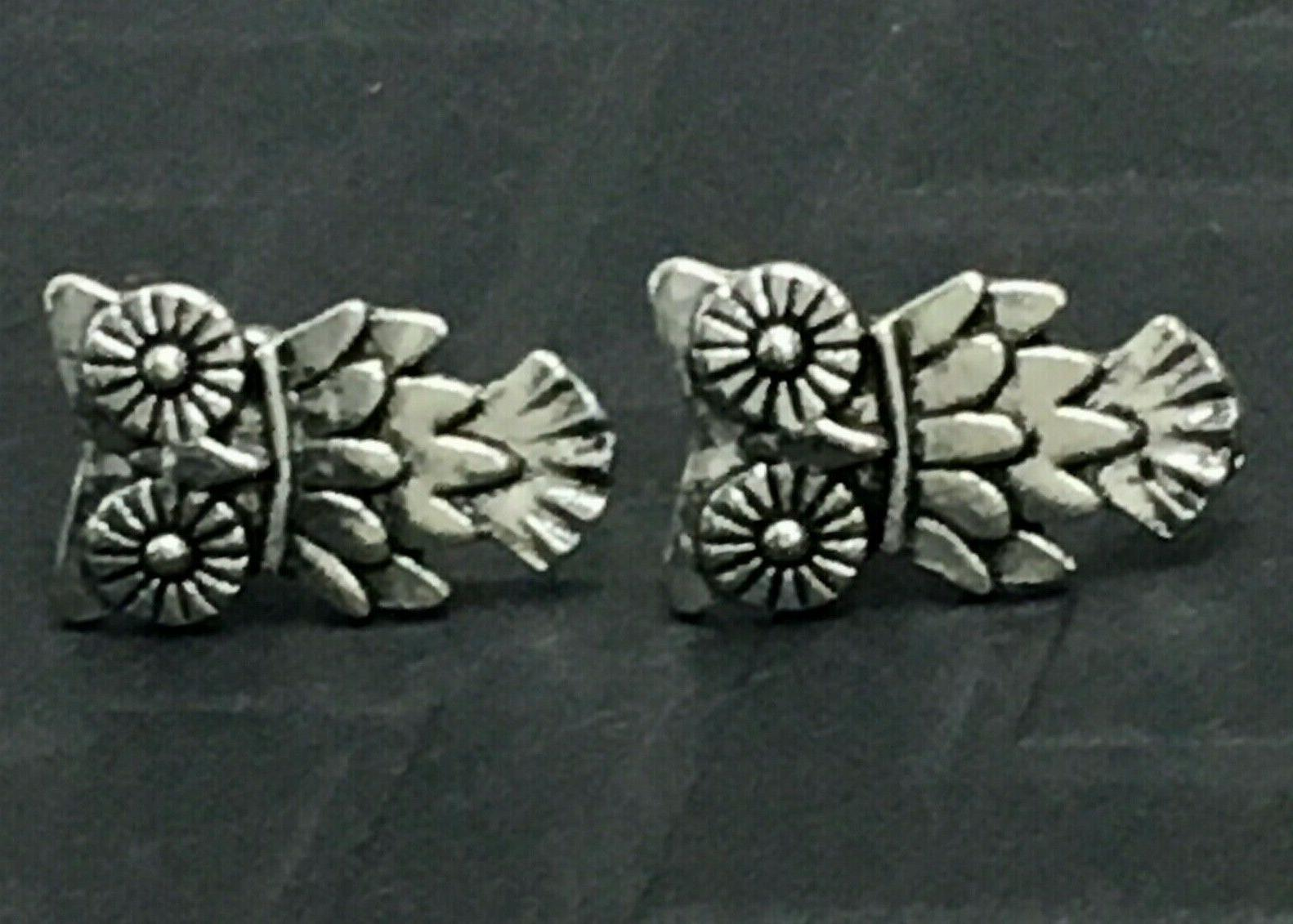 Beautiful Silver Tone OWL EARRINGS