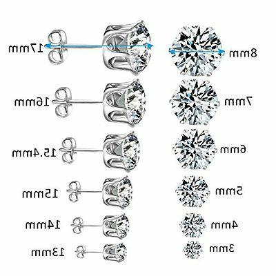 Cubic Zirconia Stainless