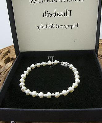 Freshwater Cultured Bracelet with Japanese beads in &