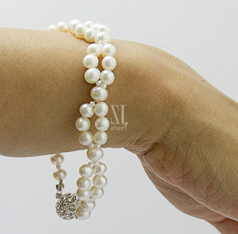 Freshwater Cultured Bracelet with & Links