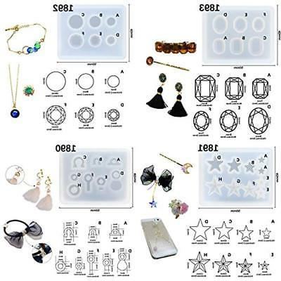 Funshowcase Jewelry Mini Silicone 7-in-Set