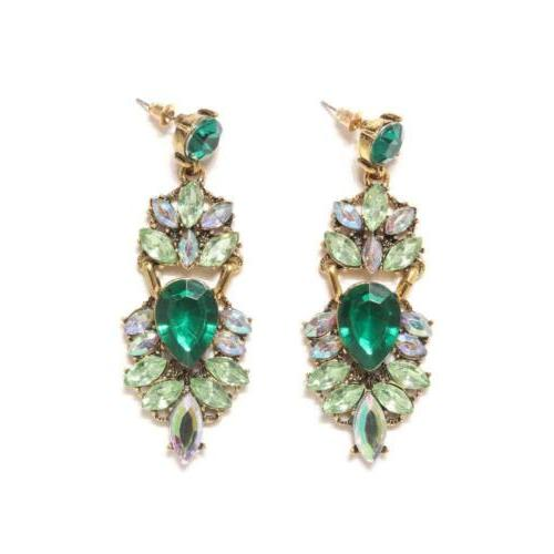 Holylove 2 Colors Statement Stud Earrings 1 Pair for Women C