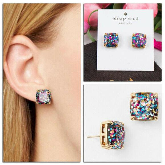 KATE SPADE Plated Stud Earrings