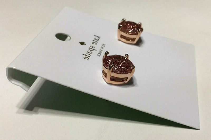 Kate Spade Rose Earrings O0Ru1624