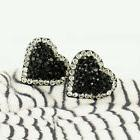 New Elegant Design Heart Stud Earrings Use Swarovski Crystal
