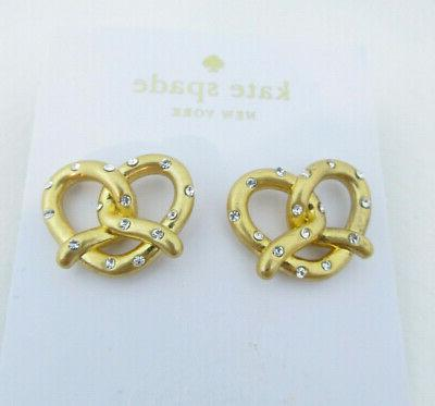 Kate Spade New York Gold Tone & Goldplated Stud Earrings