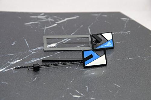 Cocolang by Stylish Sided Rectangle Dangle Earrings Size