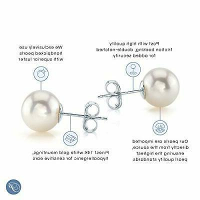 PEARL 7-8mm Round White Cultured Pearl