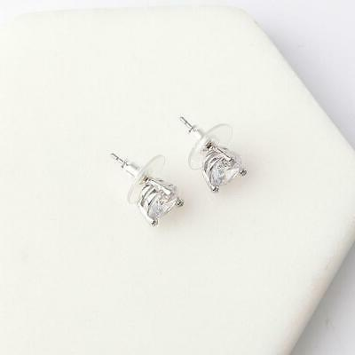 Kate New Rise and Shine Stud Earrings White/Clear