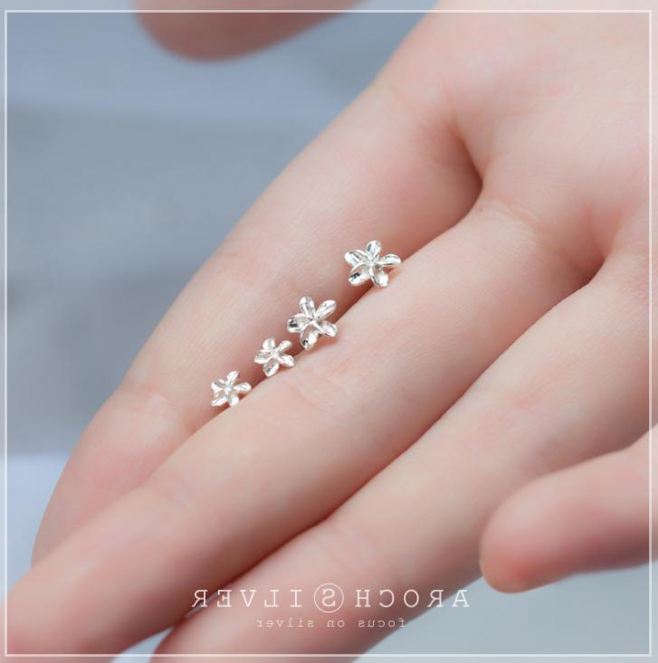 Solid Tiny STUD EARRINGS Gift
