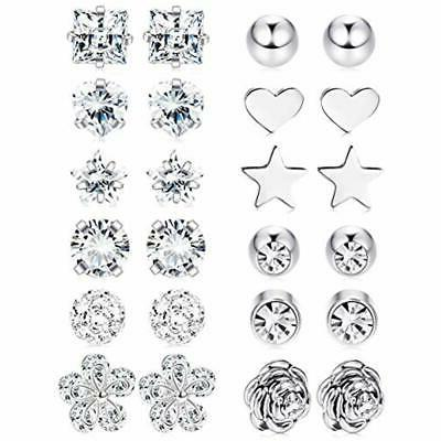 LOYALLOOK Stud Stainless Barbell Cartilage Helix 2