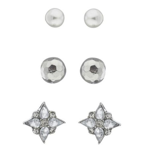 women s girl s assorted silver tone