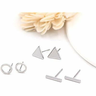 Zealmer Set Gold Pairs Triangle
