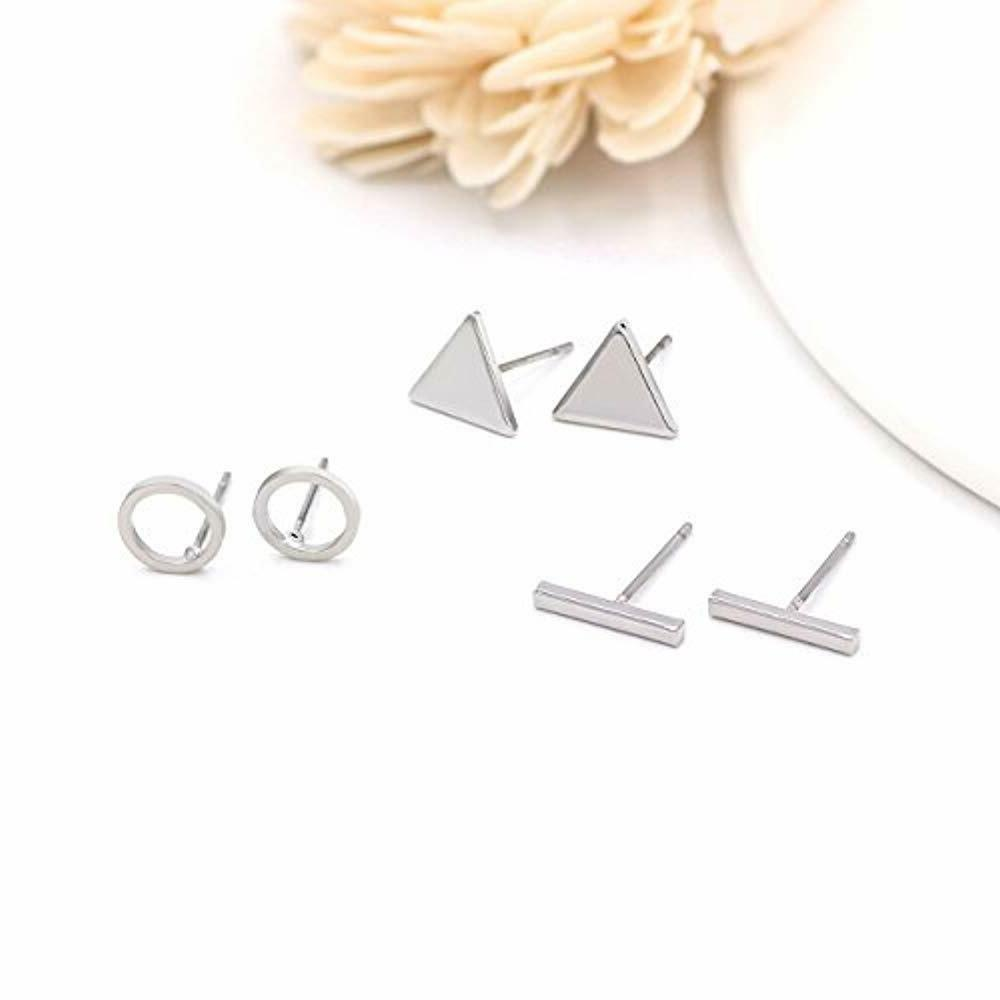 Zealmer Stud Set Pairs Triangle