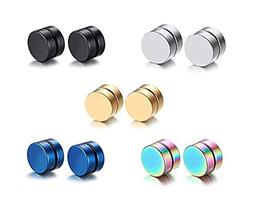 mens womens stainless steel magnetic