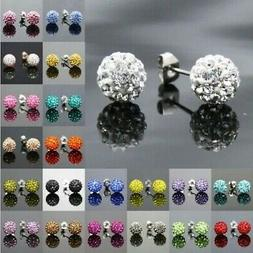 New Stainless Steel 19 Color Trendy Brand Earrings Top Quali