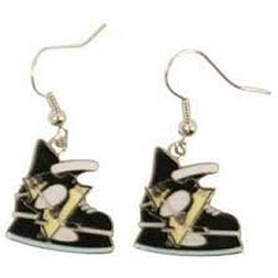 NHL Officially Licensed Ice Skate Dangle Earrings