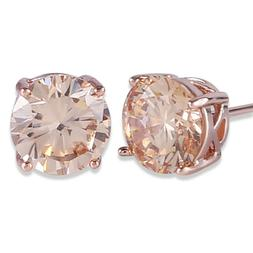 GULICX Rose Gold Tone Yellow Crystal Royal Journey Jewelry E