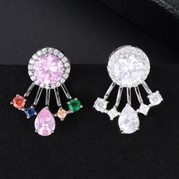 Sweet Brand Top Quality Cubic Zirconia Earrings Jewelry for
