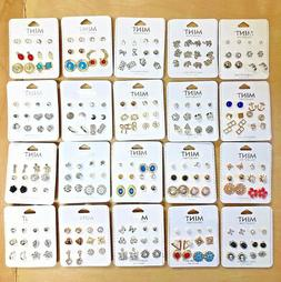 Wholesale Lot 50 or 100 Pairs New Assorted Cute Stud Earring