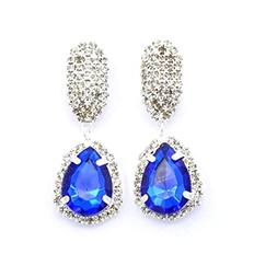 Gyoume Women Earrings Water Drop Earring Water Drill Glass S