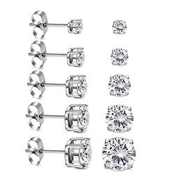 women s 18k gold plated cz stud