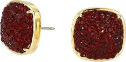 Kate Spade New York Women's Clay Pave Small Square Studs Ear