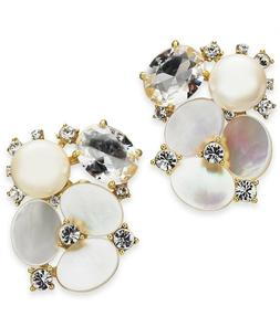 Kate Spade New York Women's Disco Pansy Cluster Studs Earrin